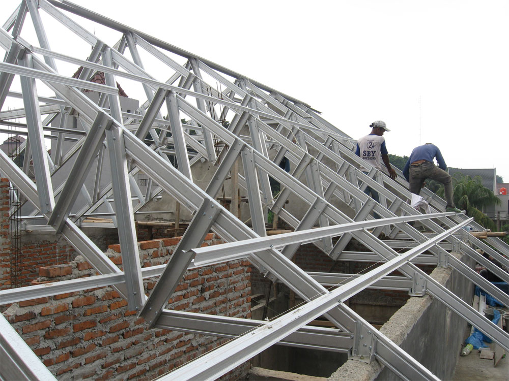 Grahacipta Persada Arsitek Desain Rumah Jasa Mandor Pengawas Bangunan Atap Baja Ringan