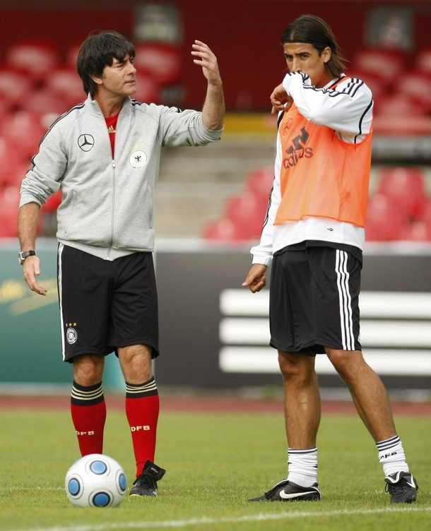 sami khedira replaces ballack in the world cup 2010