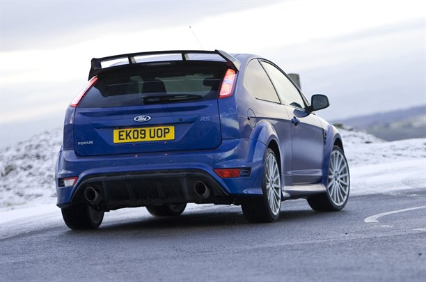 2010 Ford Focus RS - rear view