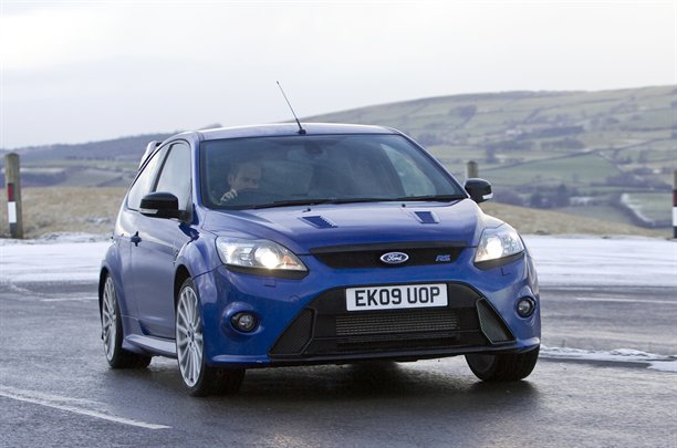 2010 Ford Focus RS - front view