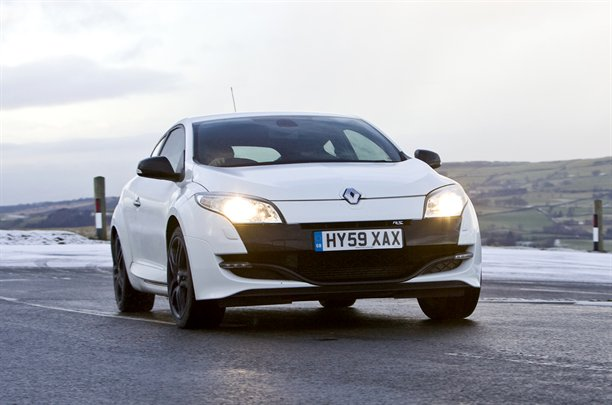 2010 Renault Megane 250 - front view