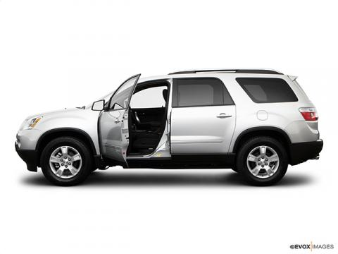 crossover suv of 2009 gmc acadia new cars used cars. Black Bedroom Furniture Sets. Home Design Ideas