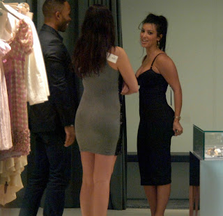 Kim Kardashian Goes on a Shopping