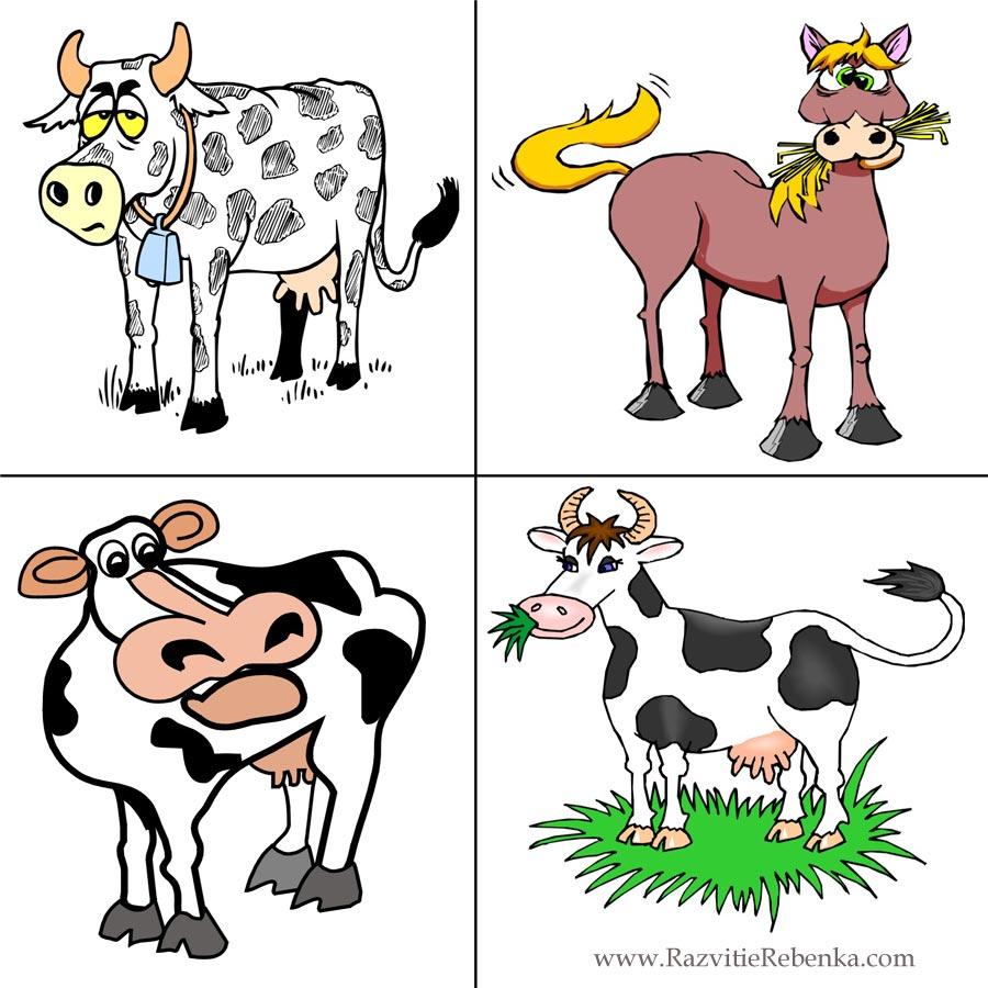 3 лишний картинки для детей 6 лет