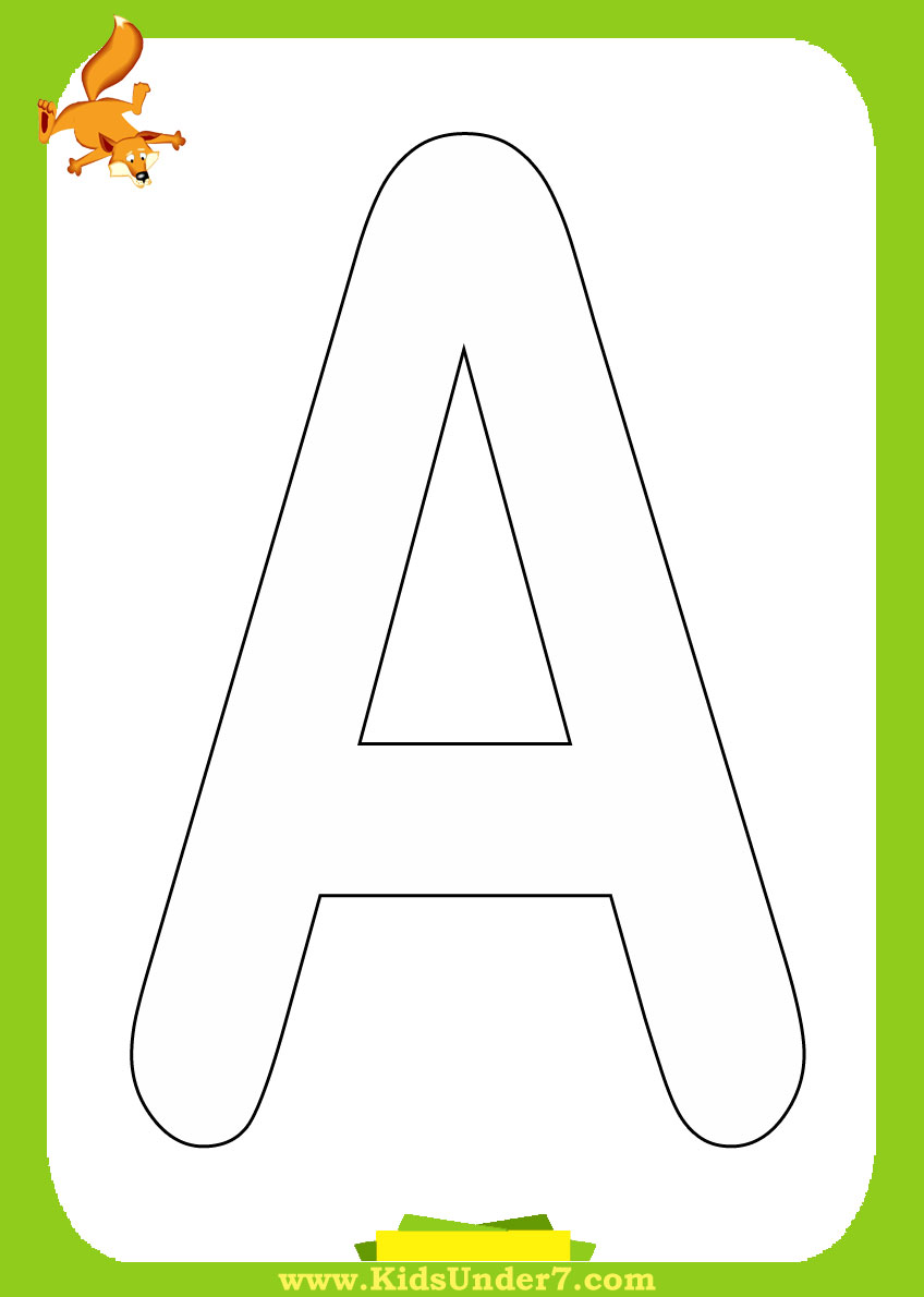 Alphabet Coloring Pages With Pictures : Alphabet letter w printables coloring pages posters