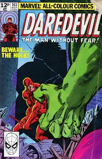 Daredevil 163- Frank Miller