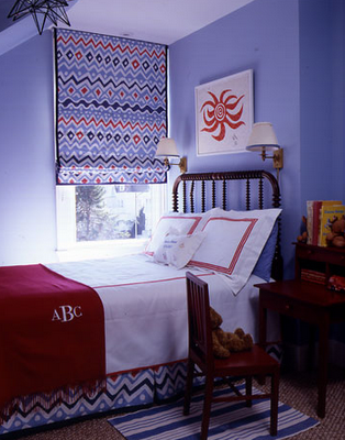 Red White And Blue Bedrooms