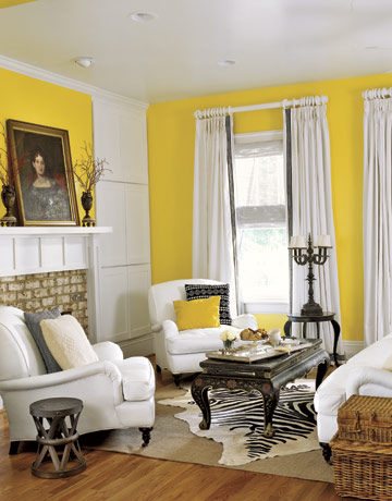 Sense and simplicity 15 sunny yellow rooms Yellow room design ideas