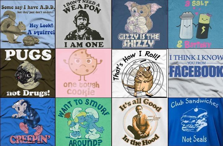 of Funny T Shirts, Vintage T Shirts, 80's T Shirts, Custom T Shirts ...