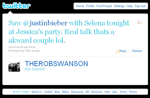 justinbieber selenagomez jessicajarrel birthday party