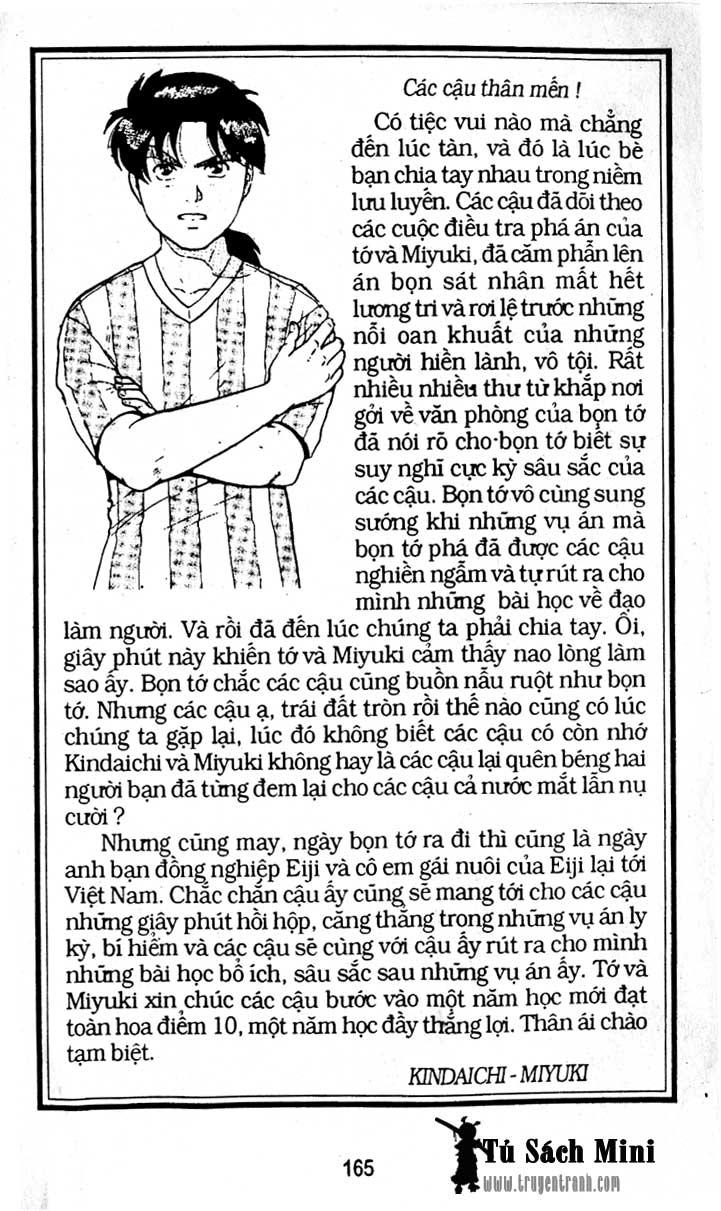 Thám Tử Kindaichi chap 204 – End Trang 38 - Mangak.info