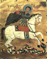 S.Jorge, santo padroeiro da Geórgia