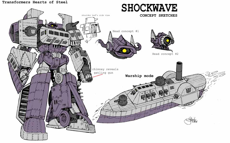 transformers dark of the moon shockwave. in Transformers 3 : Dark
