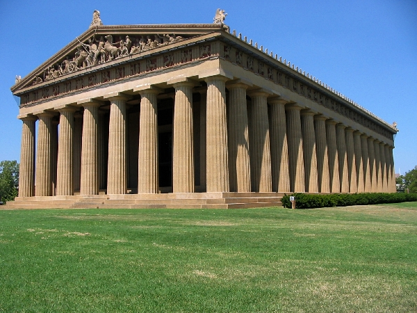 The Nashville Parthenon exterior