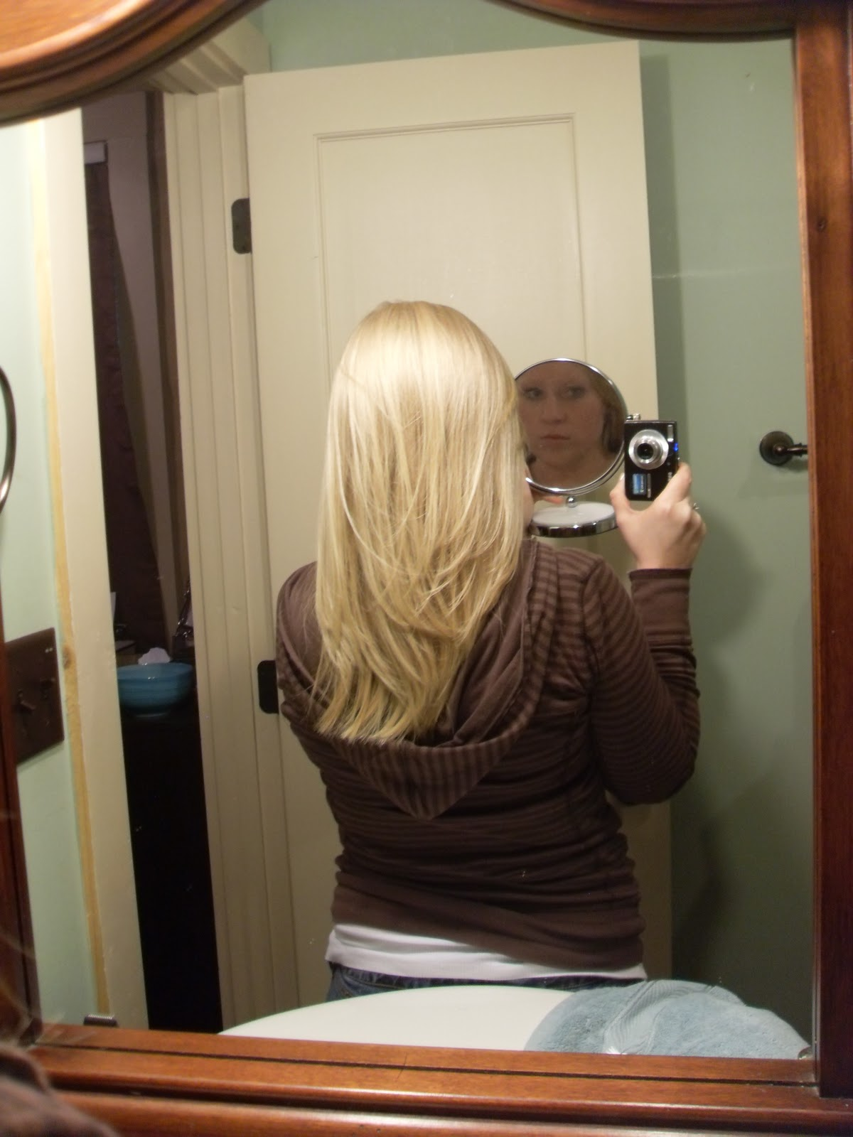 Long Inverted Bob Back View