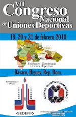 VII  CONGRESO NACIONAL UNIONES DEPORTIVAS