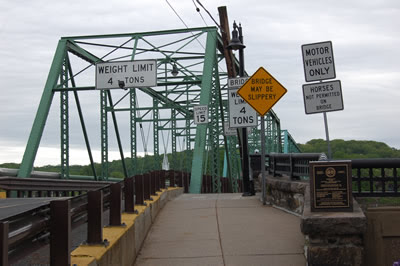 Bridge from New Hope to Lambertville.