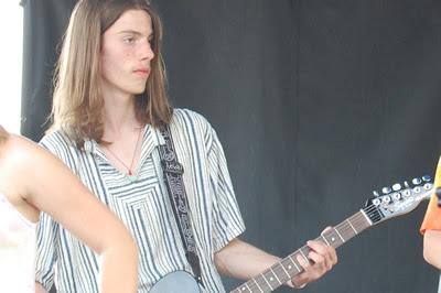 Alex on stage.