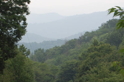 Blue Ridge Mountains, North Carolina.