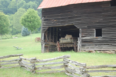 Old barn, North Carolina.