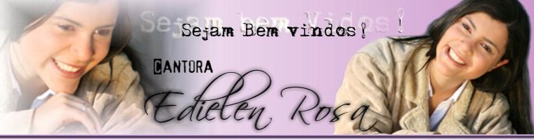 Cantora Edielen Rosa
