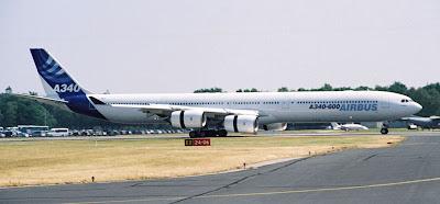 A340-600 at the Farnborough Air Show 2006 image