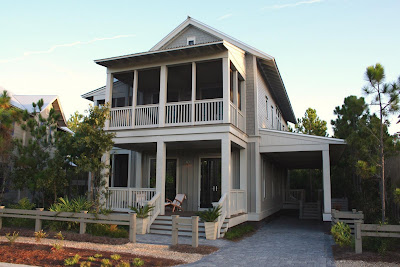 Gulf coast cottages rue martin for Gulf coast cottage plans
