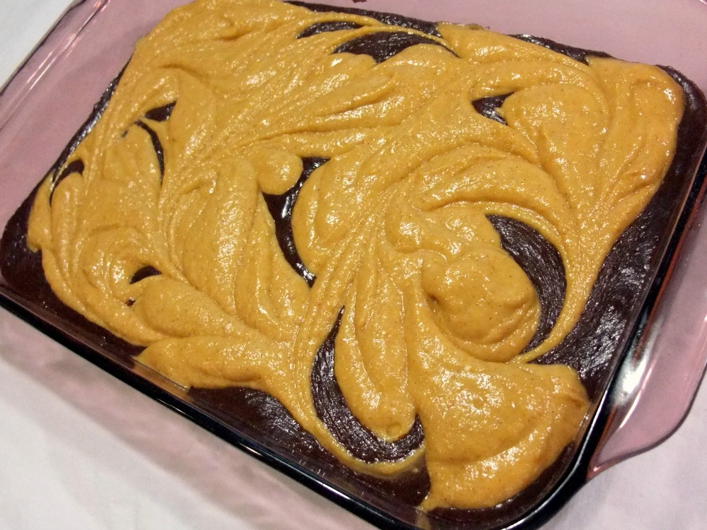 Pumpkin Swirl Brownies Recipe — Dishmaps
