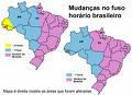 Os Fusos Horários Brasileiros