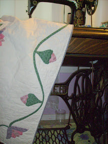 Making Quilts on Treadle Sewing Machines
