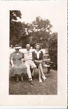 Marie,Walter & Gene Beresh Baltimore 1940