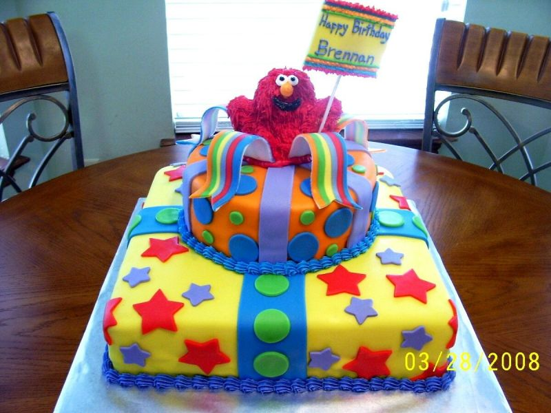 The Cakes Kids birthday cake