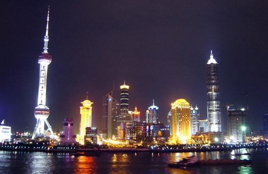 4) Shanghai, China