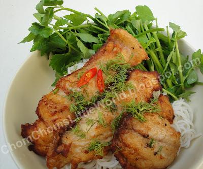Cách nấu món ăn ngon BunCaR+002 Cách nấu món Bún cá rau cần