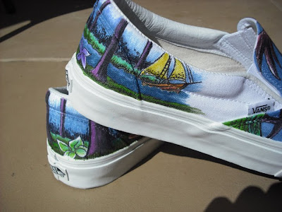 Personalized Vans Shoes On Things Are Custom Slip Ons Paint Or Thread Shoe News