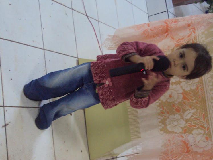 Gabrieli, nossa cantora!