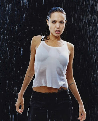 Actress Angelina Jolie hot image