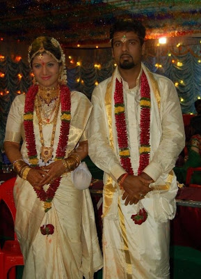Actress Rambha Wedding photos