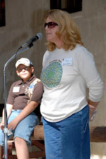 Anne Warren and her son Zak spoke about how camp has made his life better