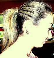 Low, elegant ponytail