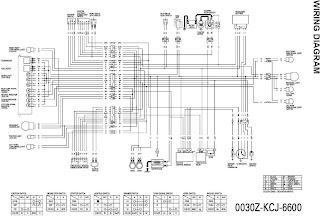 PR1NKGO bloG Diagram kelistrikan Honda Tiger