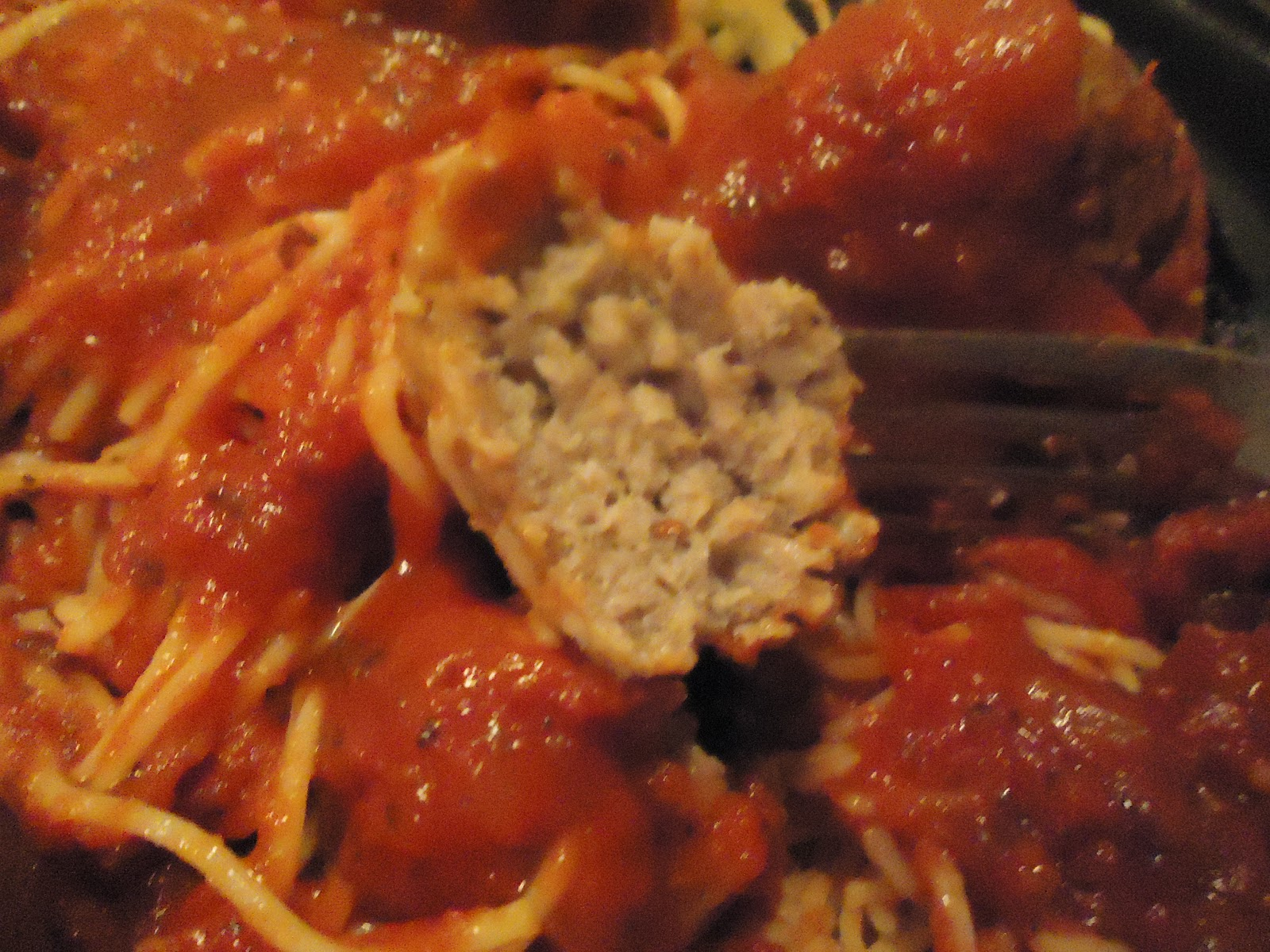 The meatballs have a little kick to them, which makes them even better ...