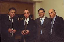 Fernando Silva, Antonio Rocha, Miguel Ramos e José Vilela