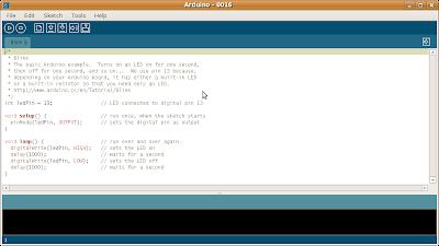 Exemplo de cógigo para o Arduino