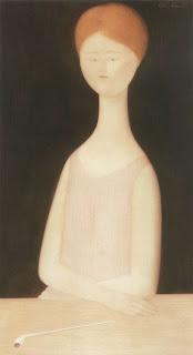 Antonio Bueno: Ritratto di donna con pipa
