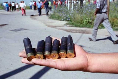 MUNICH - AND A LITTLE BIT OF EVERYTHING: What is a rubber bullet?