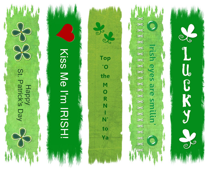 St. Patty&#39;s Day Bookmarks