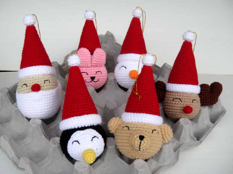 On-Line Crochet Pattern Archive - Christmas * Winter Theme Ornaments