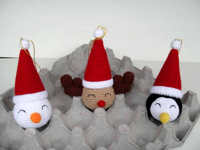 Crochet Ornaments : CROCHET CHRISTMAS ORNAMENTS FREE PATTERNS Design Patterns