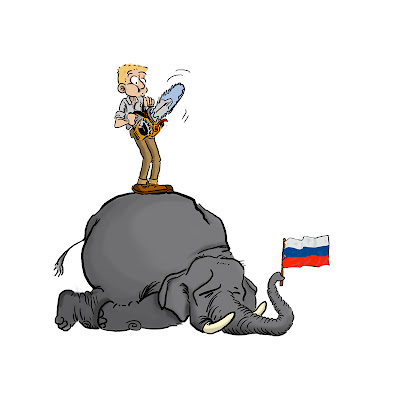 How to eat an russian elefant